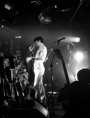 Justin at Dingwalls